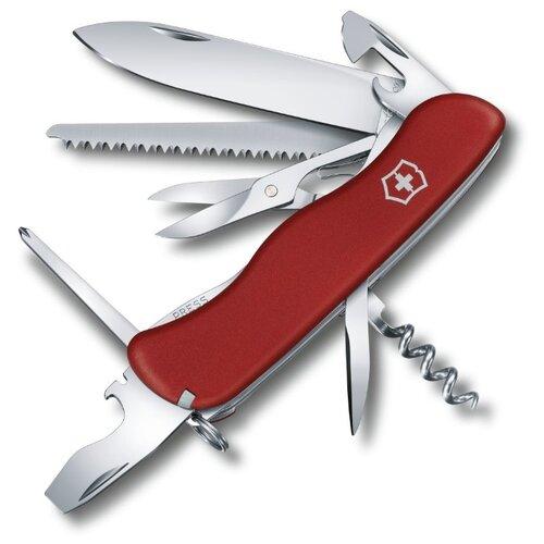 Нож многофункциональный VICTORINOX Outrider (14 функций) красный нож многофункциональный victorinox outrider 14 функций синий