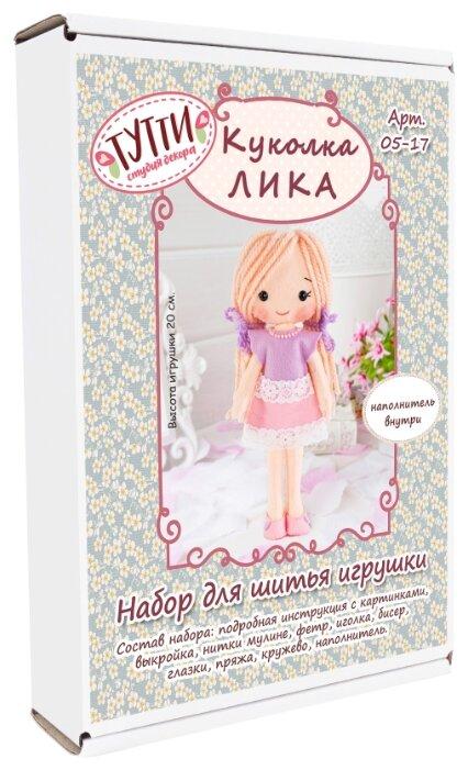 Тутти Набор для творчества шьем из фетра Куколка Лика (05-17)