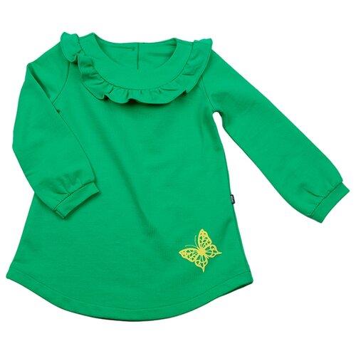 Платье Mini Maxi размер 92, зеленый