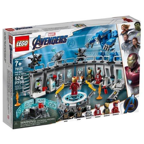Купить Конструктор LEGO Marvel Super Heroes 76125 Лаборатория Железного человека, Конструкторы