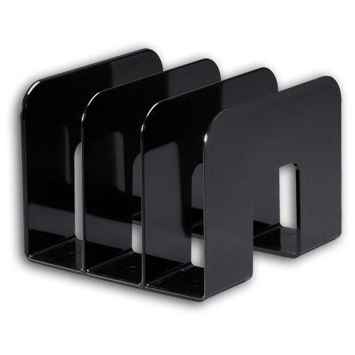 Лоток вертикальный для бумаги DURABLE Trend 1701395 (3 отд.) черный