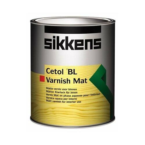 Лак Sikkens Cetol BL Varnish Mat полиуретановый бесцветный 1 л