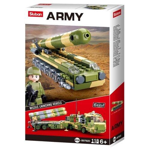 Конструктор SLUBAN Army M38-B0782D Ракетная установка