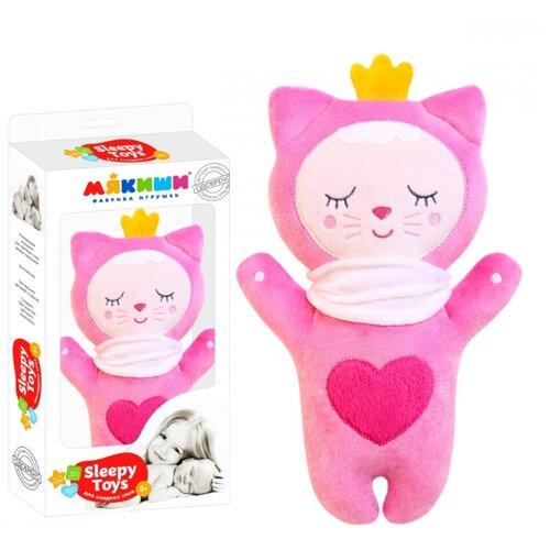 Купить Котенок Sleepy Toys Мякиши для сладких снов розовый, Комфортеры