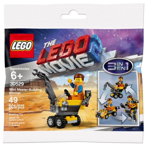 Конструктор LEGO The LEGO Movie 30529 Минитрансформер Эммета