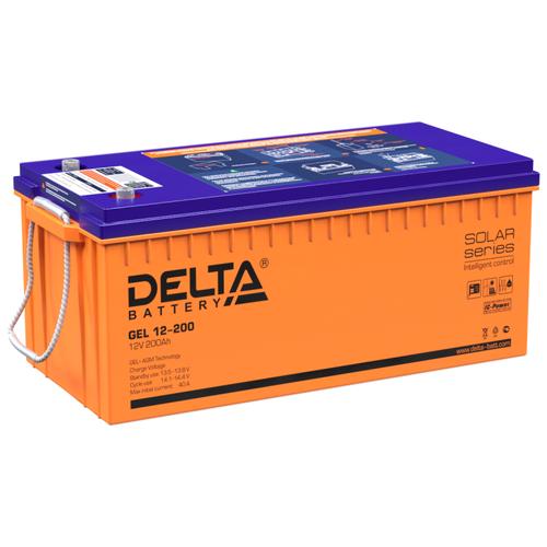 Фото - Аккумуляторная батарея DELTA Battery GEL 12-200 200 А·ч аккумуляторная батарея delta battery gel 12 33 33 а·ч
