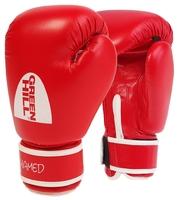 Боксерские перчатки Green hill Hamed (BGH-2036) без таргета красный 10 oz