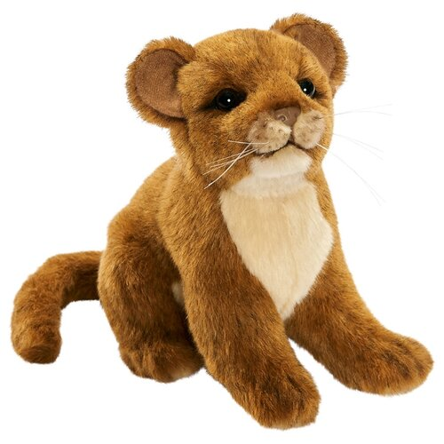 Мягкая игрушка Hansa Львенок 18 см мягкая игрушка hansa детёныш леопарда 18 см