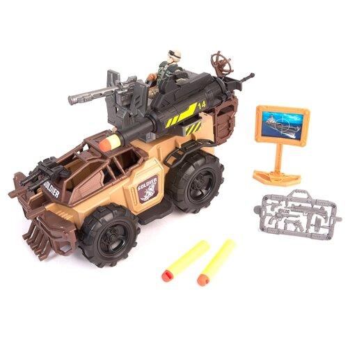 Купить Игровой набор Chap Mei Soldier Force - Ударный броневик 521065, Игровые наборы и фигурки