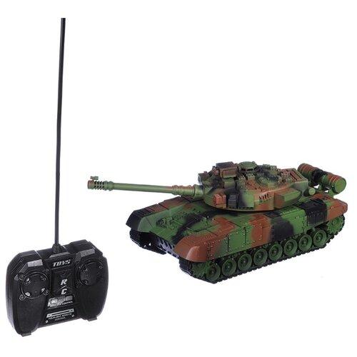 Танк ИГРОЛЕНД Кобра (293-025) 30 см камуфляжРадиоуправляемые игрушки<br>