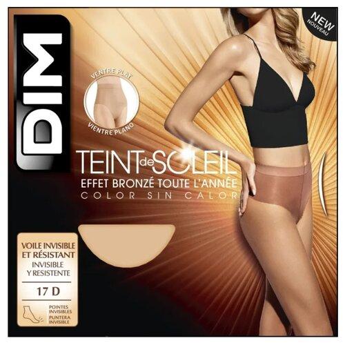 Колготки DIM Teint de Soleil Ventre Plat 17 den, размер 4, terracottaКолготки и чулки<br>