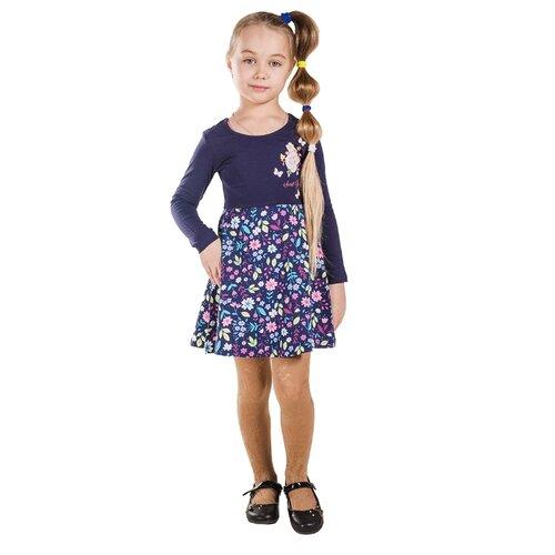 Платье Belka размер 110, темно-синий