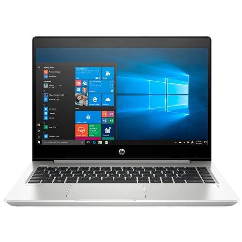 """Ноутбук HP ProBook 445R G6 (7DD94EA) (AMD Ryzen 5 3500U 2100 MHz/14""""/1366x768/4GB/500GB HDD/DVD нет//Wi-Fi/Bluetooth/Windows 10 Pro) 7DD94EA серебристый алюминий"""