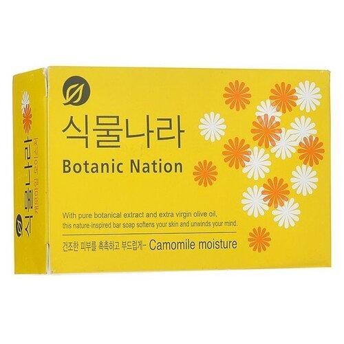 Мыло кусковое CJ Lion Botanical Nation Экстракт ромашки, 100 г