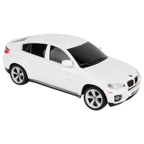 Легковой автомобиль GK Racer Series BMW X6 (866-2404) 1:24 19 см белый автомобиль на радиоуправлении kidztech mini racer