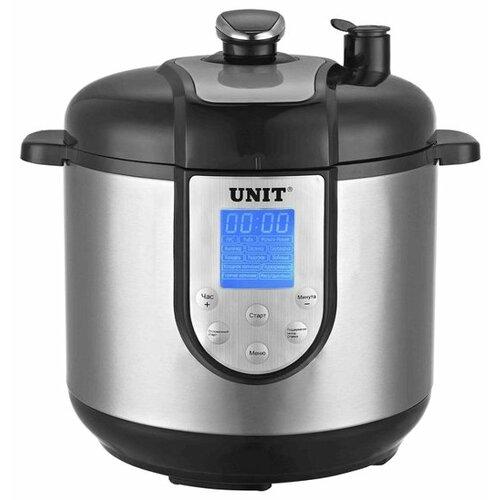 Скороварка/мультиварка UNIT USP-1210S черный/серебристый