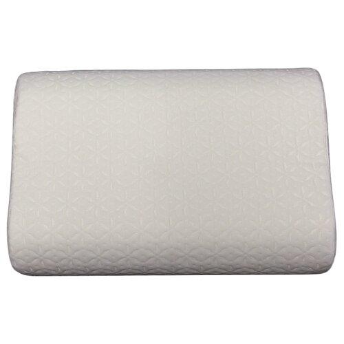 Подушка EcoSapiens Memory Plus с эффектом памяти 40 х 60 см белый подушка для путешествий travel blue tranquility pillow с эффектом памяти цвет фиолетовый 28 х 27 х 12 см