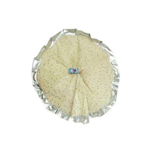 Юбочка для дерева SNOWMEN 90 см (Е0415), белый/серебристый