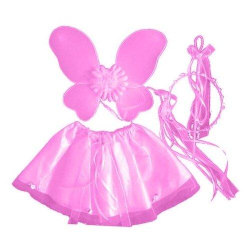 Купить Карнавальный набор SNOWMEN Бабочка (Е93179-1/Е93179-2/Е93179-3), розовый, Карнавальные костюмы
