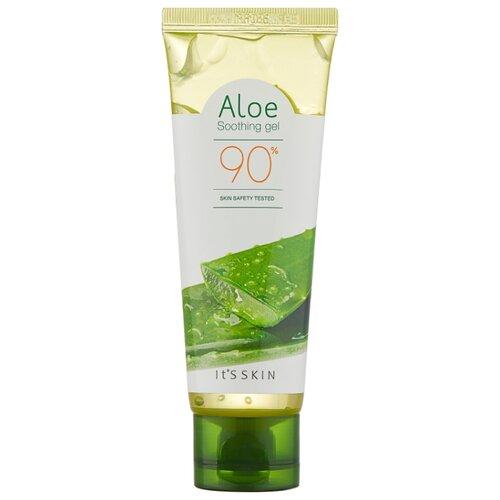 Гель для тела It'S SKIN Aloe 90% Soothing Gel Освежающий гель с алоэ вера для лица и тела, 75 мл mizon aloe 90 soothing gel алоэ