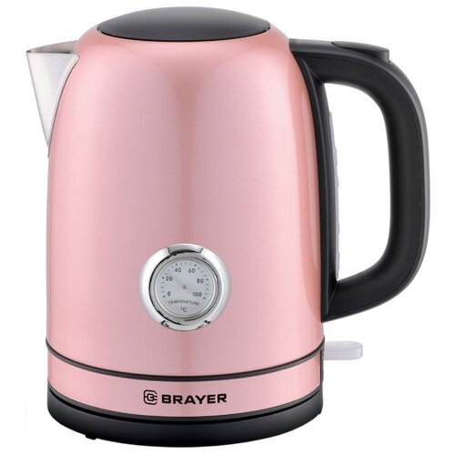 Фото - Чайник BRAYER BR1005, розовый чайник brayer br1020