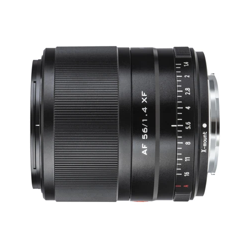 Фото - Объектив Viltrox AF 56mm f/1.4 Fujifilm X-mount черный объектив viltrox af 56mm f 1 4 fujifilm x mount черный