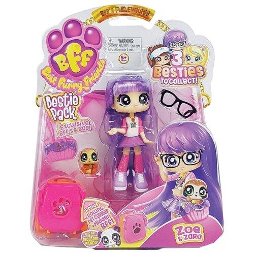Кукла Headstart Best Furry Friends Zoe & Zara с питомцем, 12 см, 77723