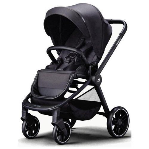 Купить Прогулочная коляска Daiichi Allee black city/black, цвет шасси: черный, Коляски