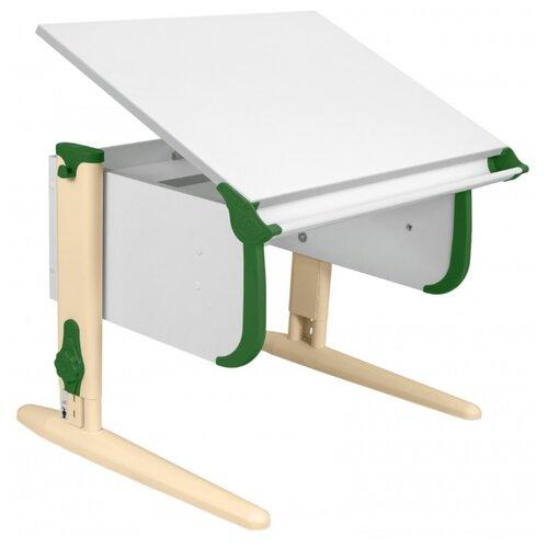 Купить Стол ДЭМИ СУТ-24 75x55 см белый/зеленый/бежевый, Парты и столы