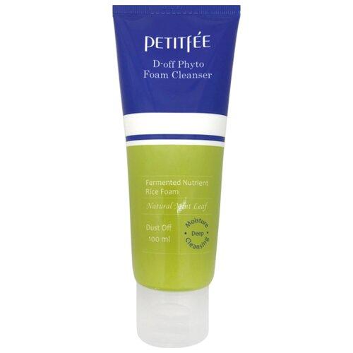 Купить Petitfee пенка с мятой для глубокого очищения кожи D-off Phyto Foam Cleanser, 100 мл