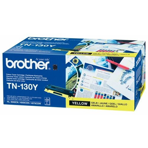 Фото - Картридж Brother TN-130Y картридж net product n tn 3280
