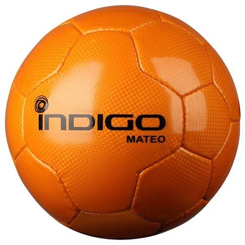 Футбольный мяч Indigo MATEO N004 оранжевый 5Мячи<br>