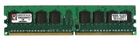 Оперативная память 2 ГБ 1 шт. Kingston KVR800D2N6/2G — купить по выгодной цене на Яндекс.Маркете