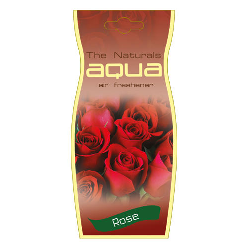 цена на Aqua Ароматизатор для автомобиля Naturals Flower Drop Rose 12 г