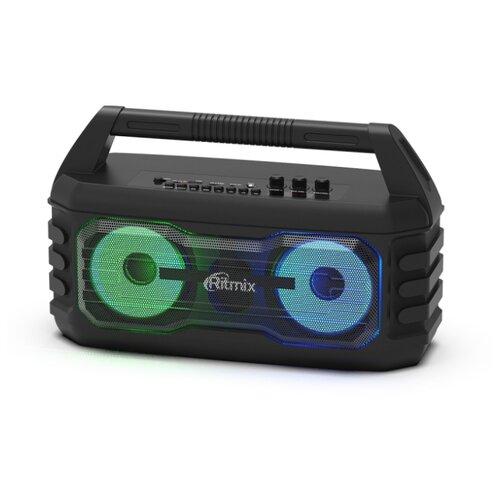 Портативная акустика Ritmix SP-610B черный портативная акустика ritmix sp 260b серый