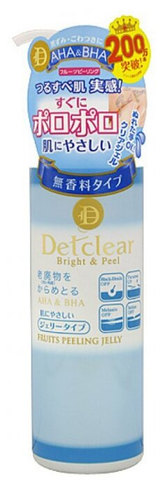Meishoku пилинг гель для лица Detclear Fruits