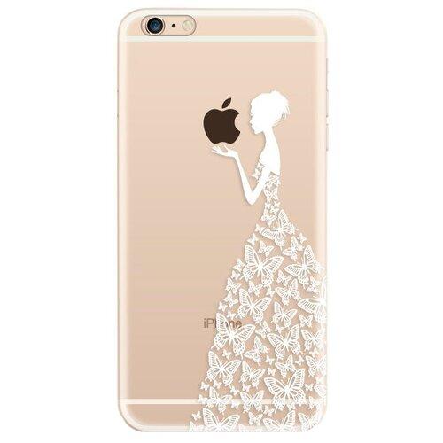 Чехол UVOO U000019APP для Apple iPhone 6/iPhone 6S Девушка в платье из бабочек 2
