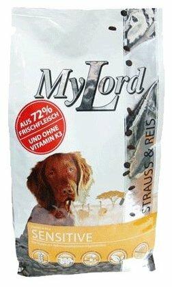 Корм для собак Dr. Alder`s МОЙ ЛОРД ПРЕМИУМ ГОЛД СЕНСИТИВ страус + рис крокеты Для взрослых собак (2.5 кг)