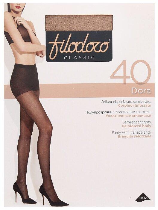 Купить Колготки Filodoro Dora 40 den, размер 4-L, playa (бежевый) по низкой цене с доставкой из Яндекс.Маркета (бывший Беру)