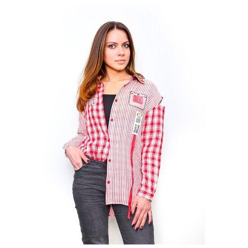 Блузка Deloras размер 146, красный футболка deloras размер 146 белый