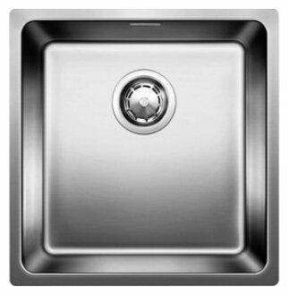 Врезная кухонная мойка Blanco Andano 400-U 44х44см нержавеющая сталь