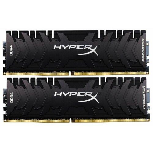 Купить Оперативная память HyperX DDR4 3000 (PC 24000) DIMM 288 pin, 8 ГБ 2 шт. 1.35 В, CL 15, HX430C15PB3K2/16