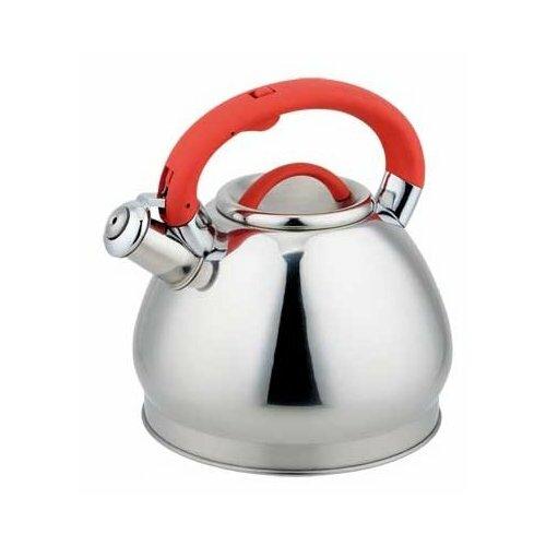 Rainstahl Чайник 7626-30RS\WK 3 л, красный rainstahl чайник 7625 30rs wk 3 л стальной черный