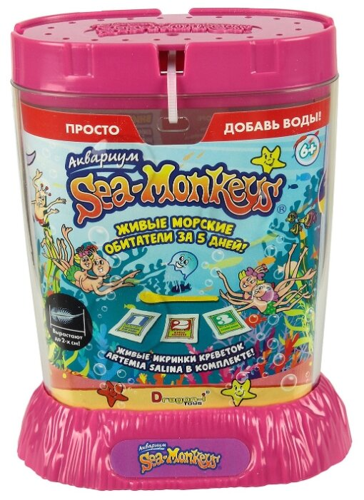 Набор 1 TOY Sea-Monkeys: Artemia salina