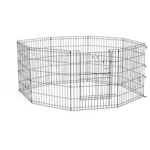Вольер для собак Midwest Life Stages 524DR 61х147х61 см черный