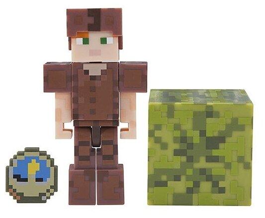 Игровой набор Jazwares Minecraft Алекс в кожаной броне 19975