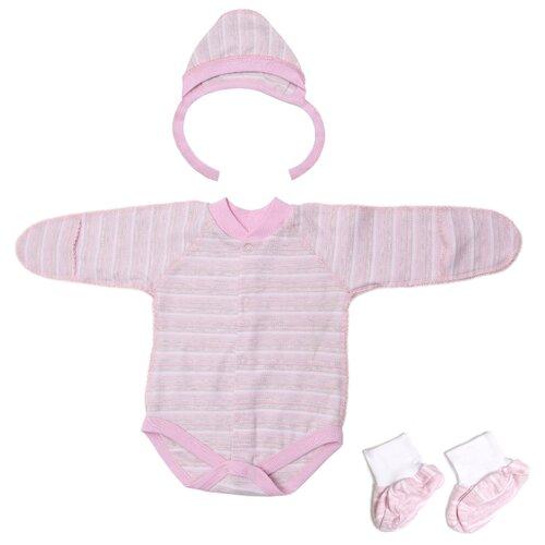 Фото - Комплект одежды Клякса размер 62, розовый комплект одежды клякса размер 86 желтый