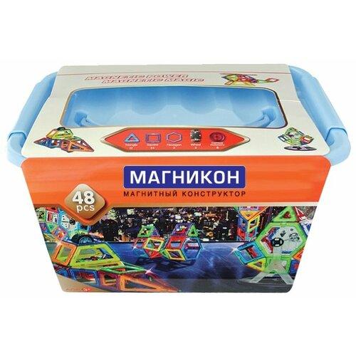 Магнитный конструктор Магникон Мастер MK-48 цена 2017