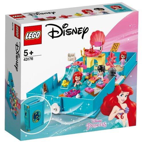Конструктор LEGO Disney Princess 43176 Книга сказочных приключений Ариэль princess snap