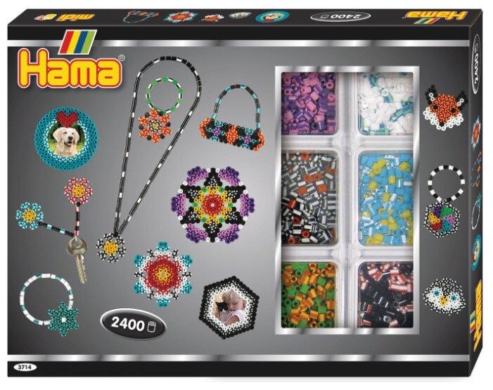Hama Набор термомозаики Шестиугольник, круг midi (3714)